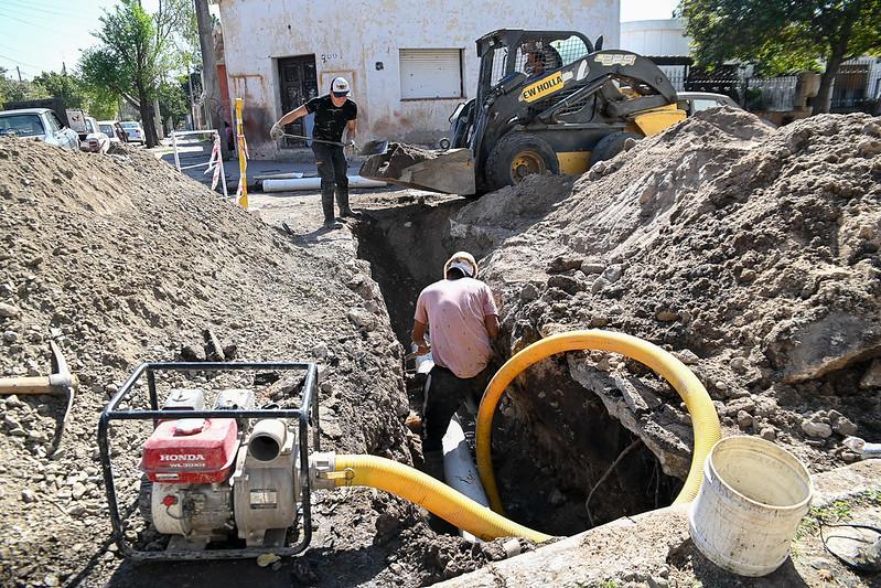 Tras 10 años de reclamos, la Municipalidad solucionó los desbordes cloacales en el Hogar Padre Lamonaca (2)