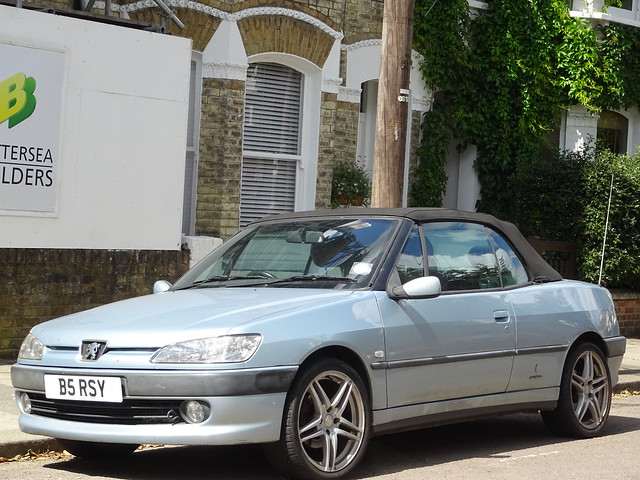2000 Peugeot 306 2.0 SE Cabriolet
