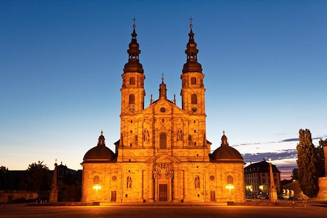 Abend am Dom Fulda