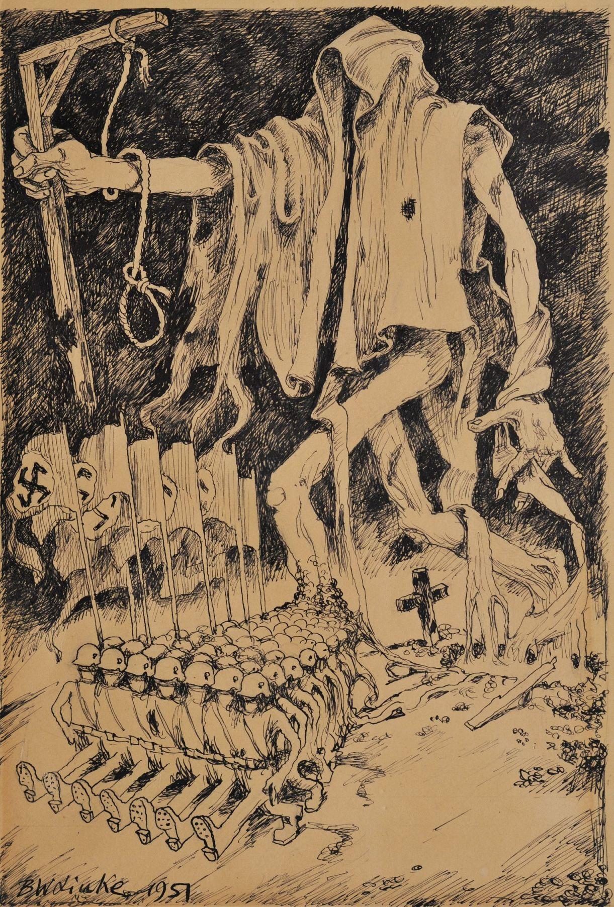 Bronisław Wojciech Linke - Resurrection of Nazism, 1951