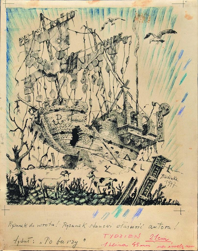 Bronisław Wojciech Linke - After the Storm, 1947