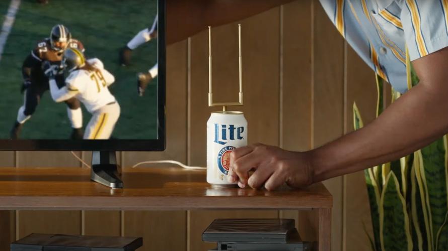 Miller Lite превратил пивную банку в телевизионную антенну