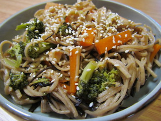 Land and Sea Soba Salad
