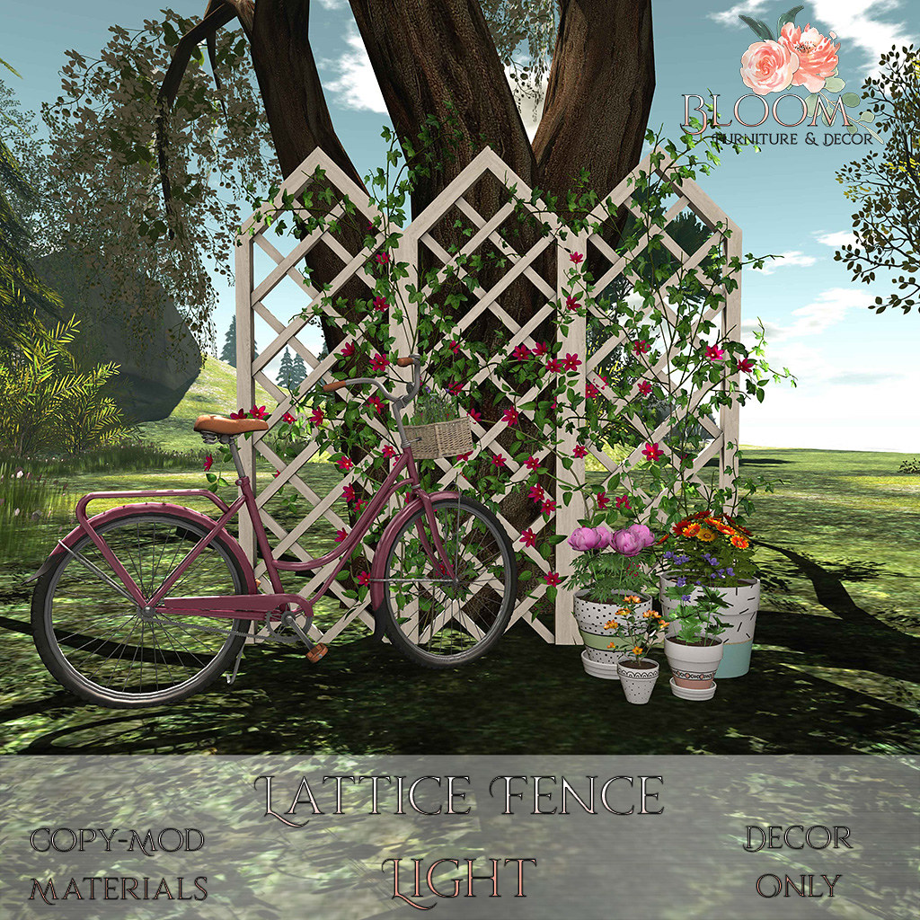Bloom! – Lattice Fence LightAD
