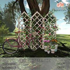Bloom! - Lattice Fence LightAD