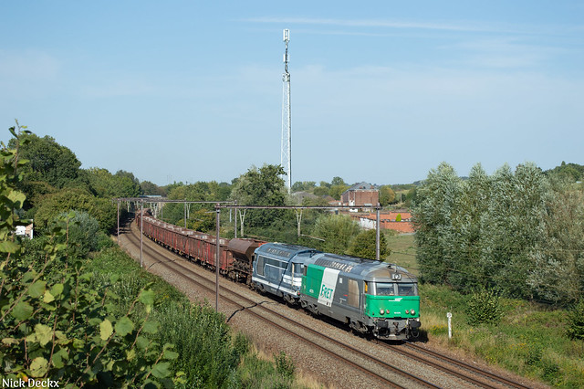 SNCF Fret 67579 + 67629