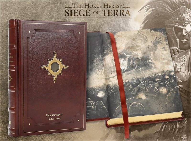 «ЕРЕСЬ ХОРУСА. ОСАДА ТЕРРЫ: Ярость Магнуса», ограниченное издание | Horus Heresy: Siege of Terra. The Fury of Magnus, Limited Edition