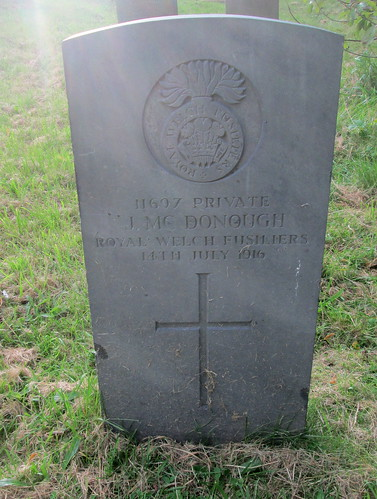 Great War Grave, Hawarden