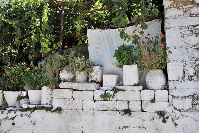 Traditional village in Crete