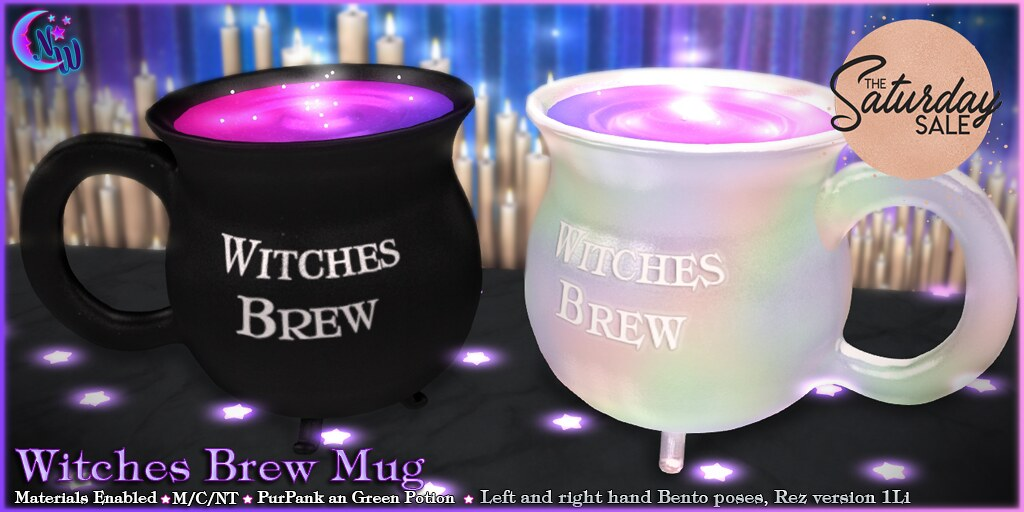 Witches Brew Mug for Saturday Sale