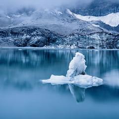 At the 'Griesslisee' - a glacier lake IV