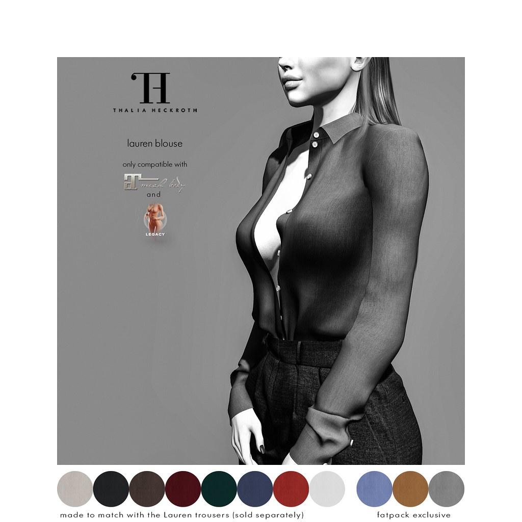 Thalia Heckroth – Lauren Blouse (MAITREYA LARA AND MESHBODY LEGACY)