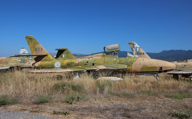 HELLENIC AIR FORCE F-84F 53-7575 THUNDERFLASH