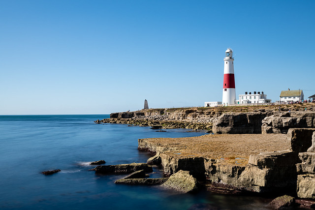 LE at The Portland Bill Lighthouse