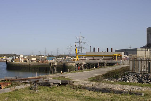 Heysham Port, Pylons