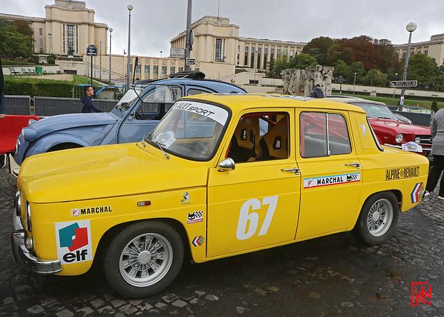La Renault 8 S.... jaune
