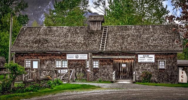 KILBY STORE & FARM c. 1906 - Harrison Mills, BC