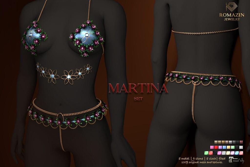 Romazin – Set <Martina> – Sense