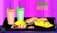 Junk Food - Taco Tray Ad