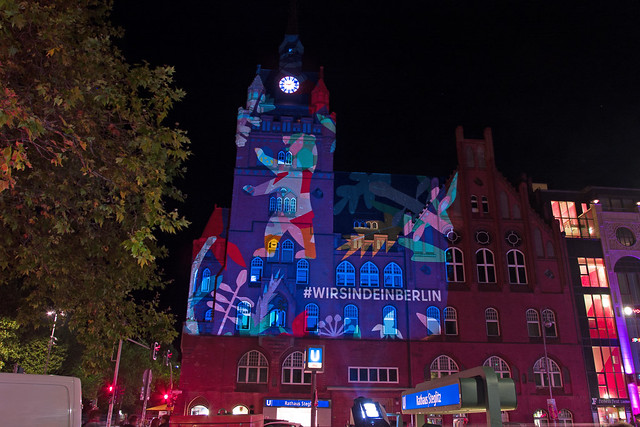 Berlin Festival of Lights 18.9.2020 Rathaus Steglitz