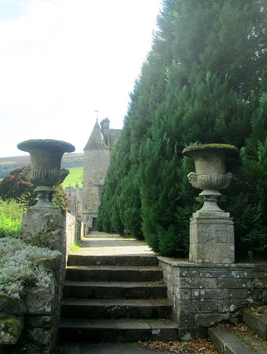 Falkland Palace Steps, Fife, Scotland