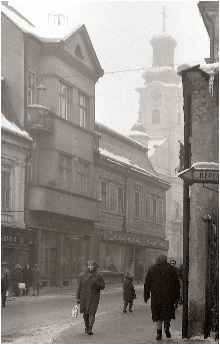 03. 1967. Закарпатье, Ужгород. 5 января