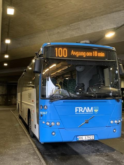 Fram Volvo 8700