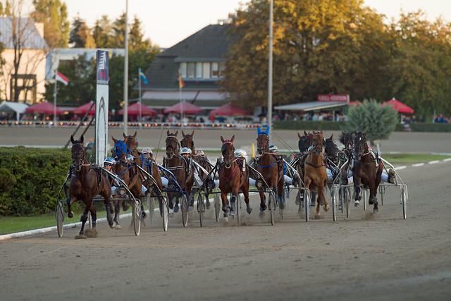 Berlin Trabrennbahn Mariendorf 18.9.2020  Traber Derby