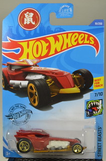 2020 Hot Wheels #91 Street Beasts #7 Ratical Racer | by Milton Fox