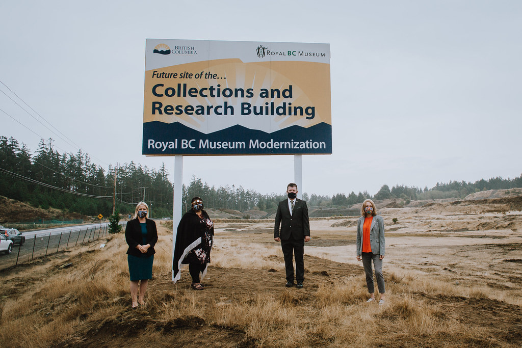 To make the Royal BC Museum's collections and archives more accessible, the B.C. government will build a new collections and research building in Colwood.