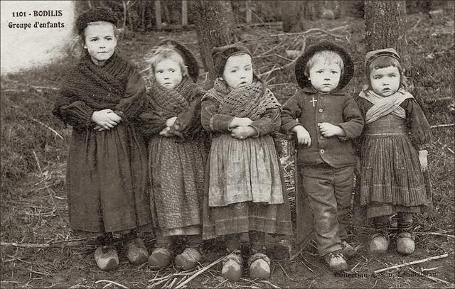 Groupe d'enfants de Bodilis (29)