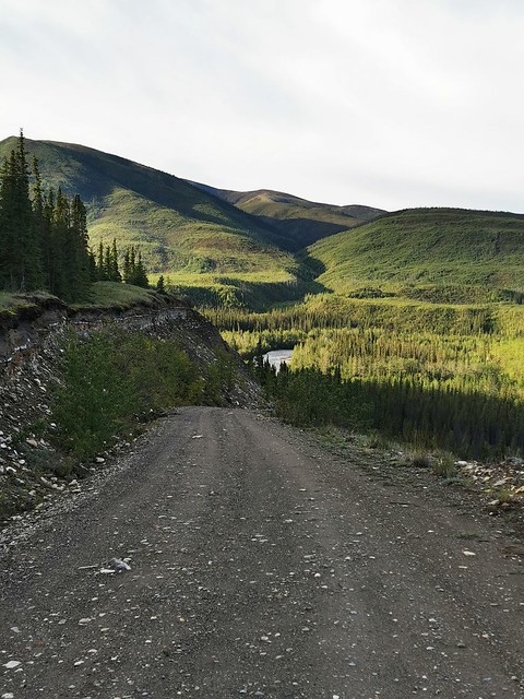 Canol Road, Southern Section. Yukon Territory, Canada.