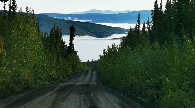Canol Road Southern Section.  Yukon Territory, Canada