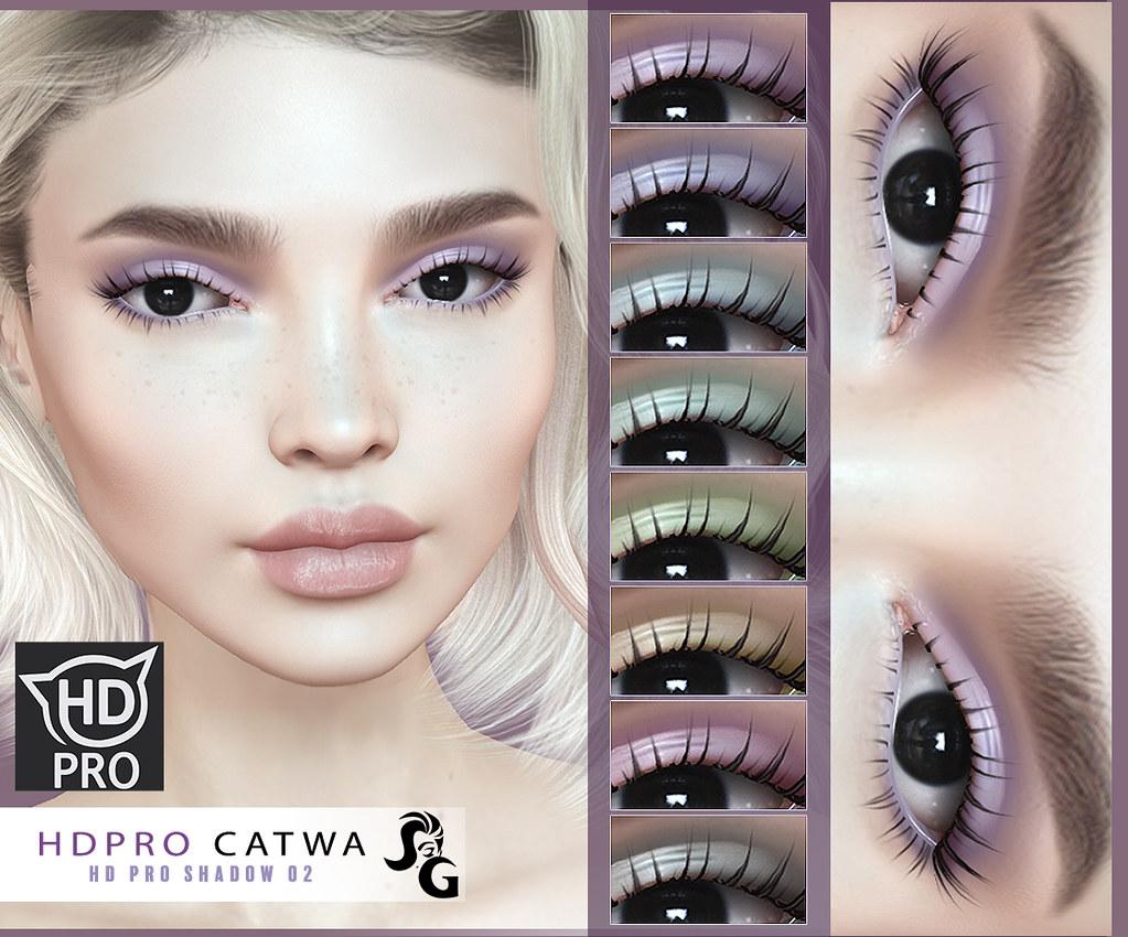 HD Shadow 02 for CATWA HD PRO HEAD