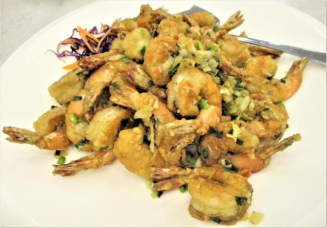 Hai Bing Seafood salty crusty prawns
