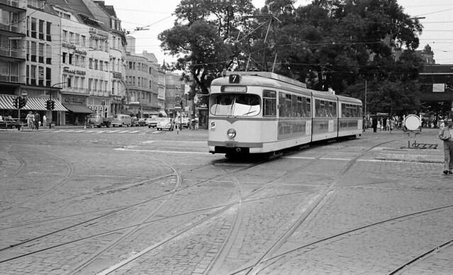 KVB Köln GT8 Düwag