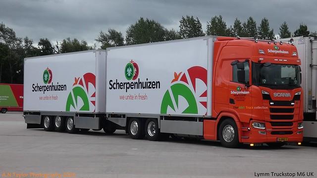 Scania Next Generation S500 16-BND-9 Scherpenhuizen [ NL ] Lymm Truckstop M6 UK