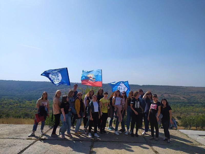 Студенты АФГТ посетили мемориальный комплекс «Миус - фронт»