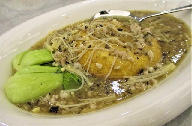 Hai Bing Seafood, golden tofu