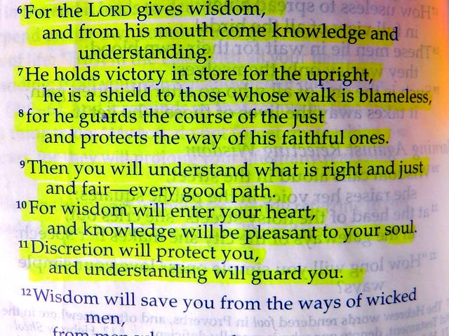 Faith over Fear: Proverbs 2