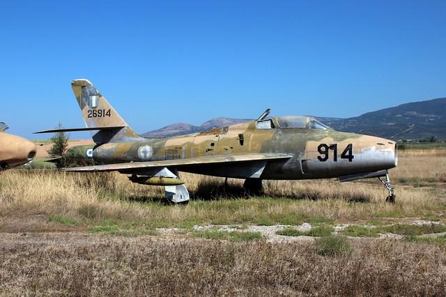 HELLENIC AIR FORCE F-84F THUNDERSTREAK  52-6914