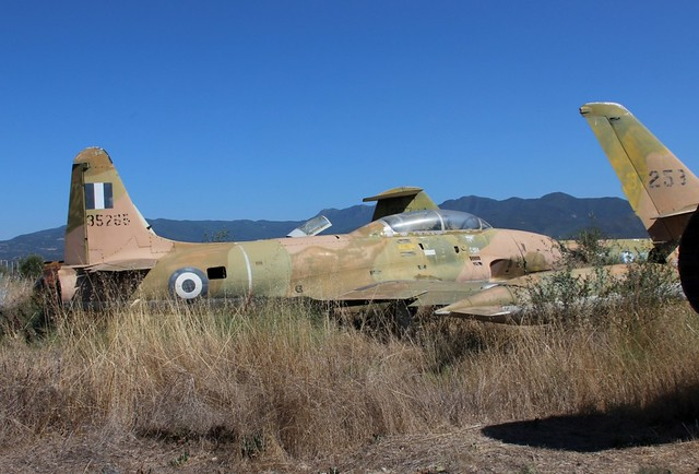 HELLENIC AIR FORCE LOCKHEED T-33A 53-5265 SHOOTING STAR