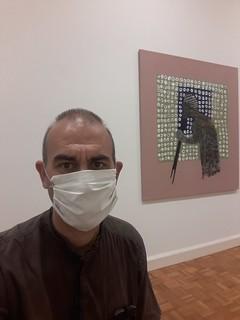 3 selfies tout seul dans le Musée des Beaux-Arts de Rennes, i
