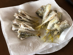 Fried up with salt and lemon