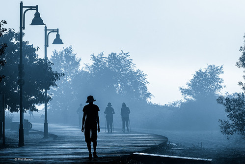 One foggy morning on the boardwalk | by Phil Marion (187 million views - THANKS)