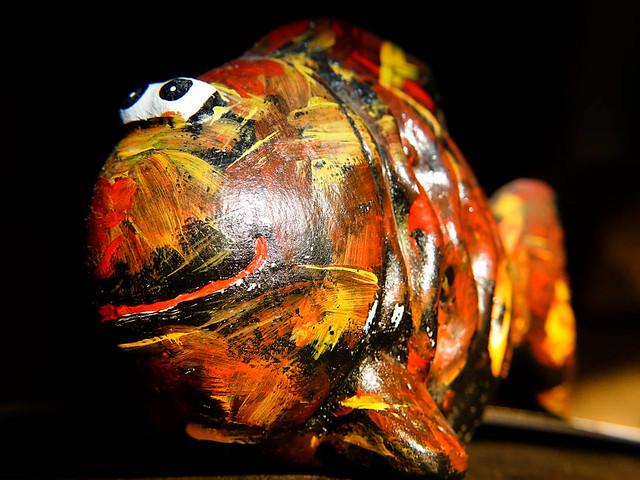 Kunst Malerei Fotografie Portrait Skulptur Fisch.
