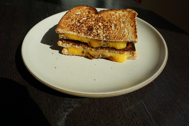 Grilled Cheese with Vegemite