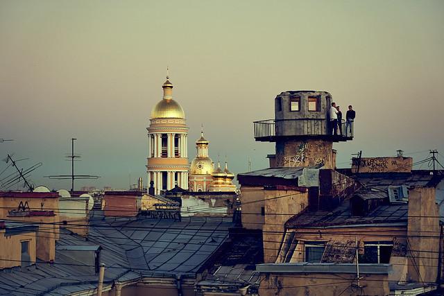 St. Petersburg roofs