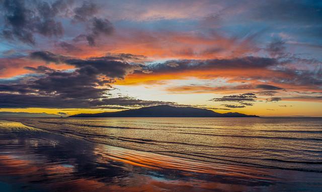 Waikanae Sunset Reflections