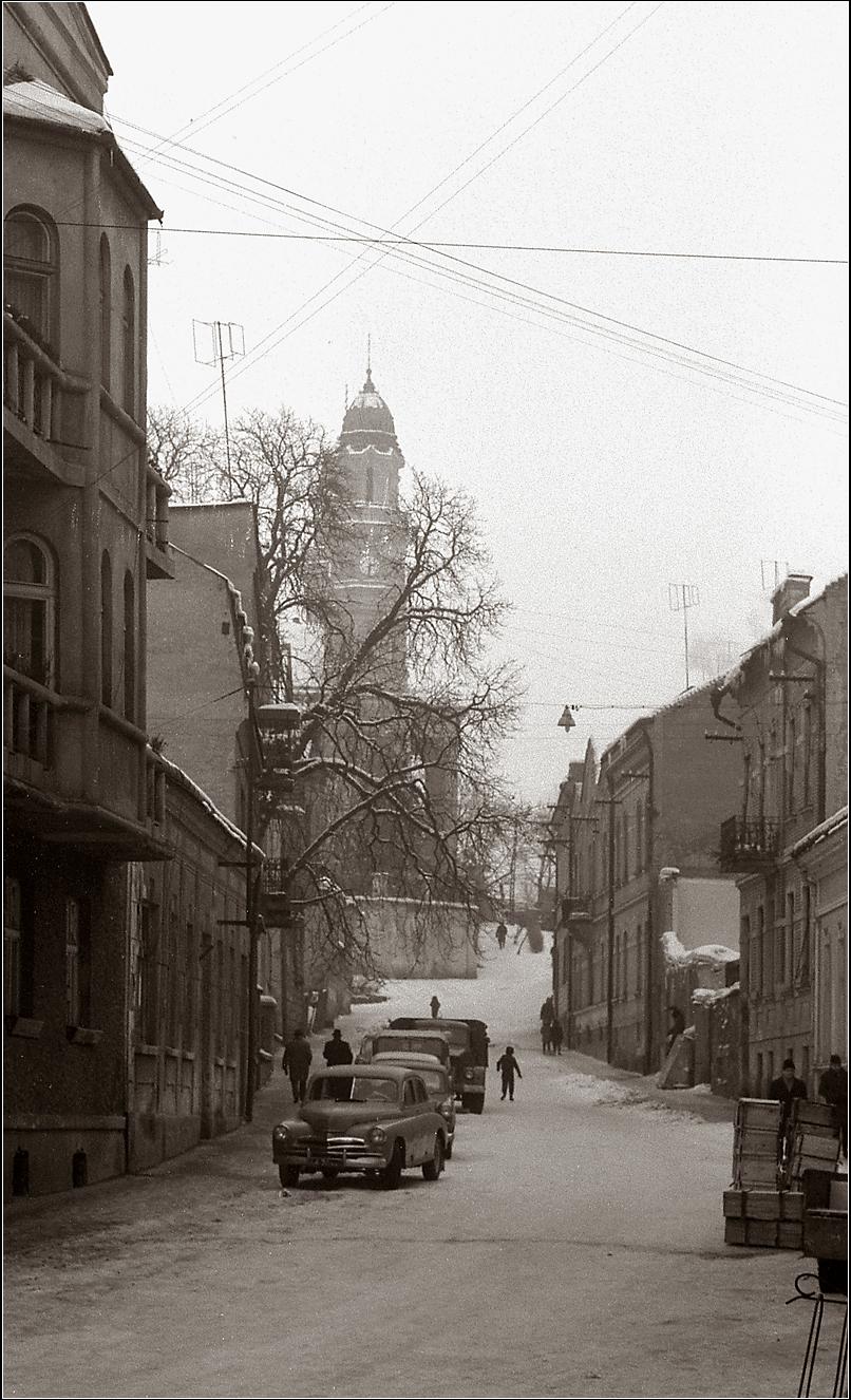 09. 1967. Закарпатье. Ужгород. 5 января